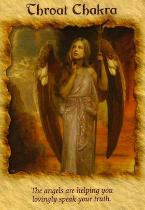Terapia De Angel Chakra De La Garganta Susurrus Angelicales